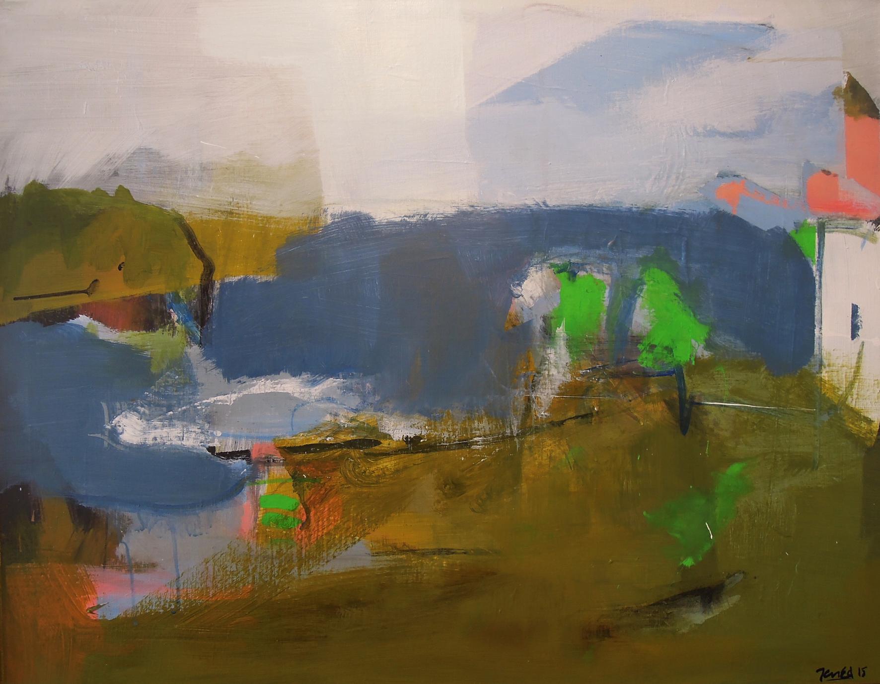 15. 90x70 - Olja på duk av Jan Ed