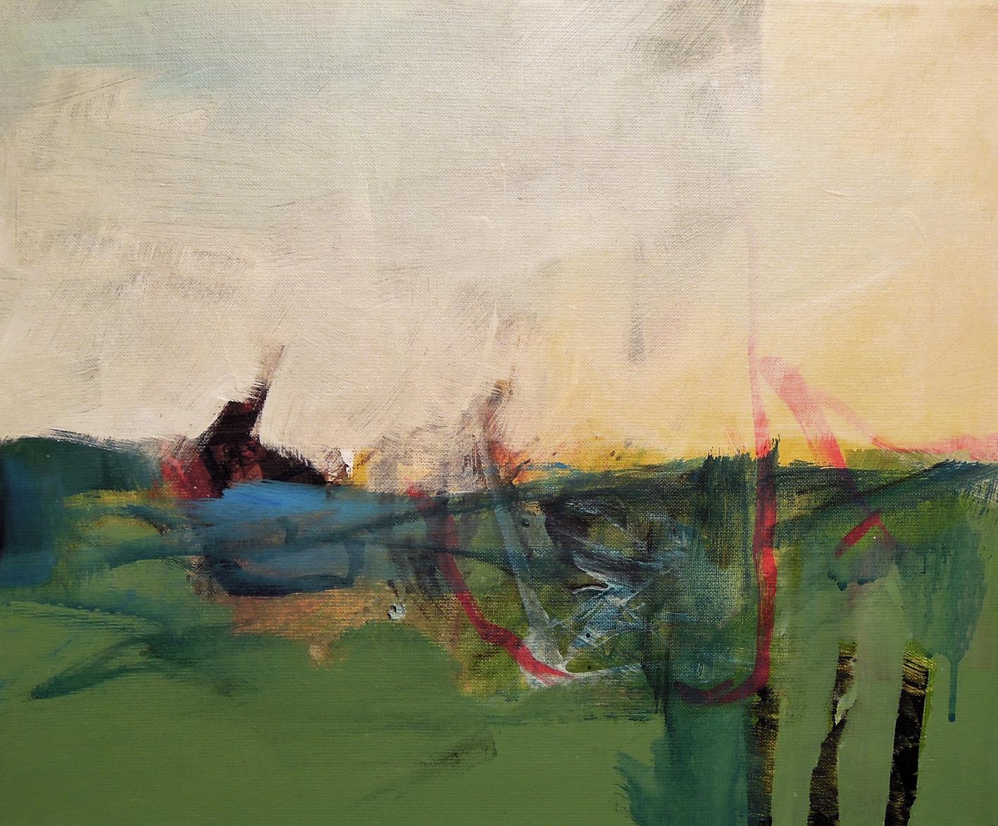 23. 46x38 - Olja på duk av Jan Ed