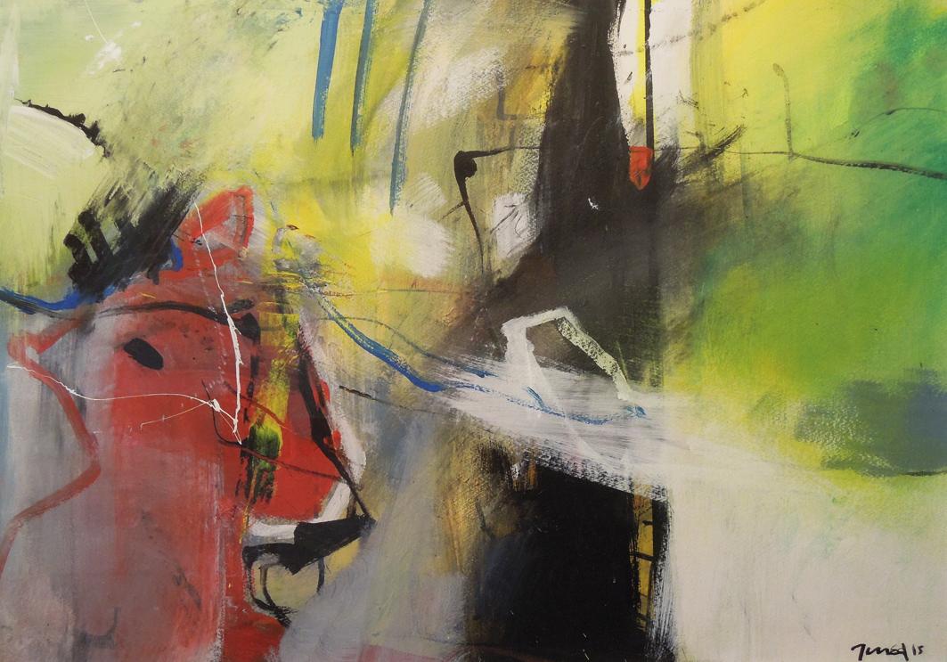 24. 70x50 - Olja på duk av Jan Ed