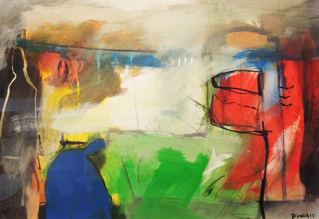 21. 70X50 - Olja på duk av Jan Ed