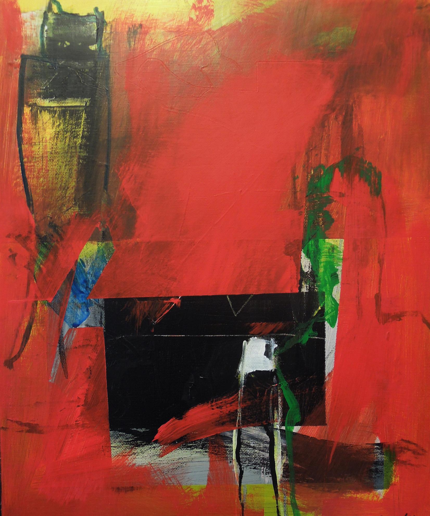 3. 37x45 - Olja på duk av Jan Ed