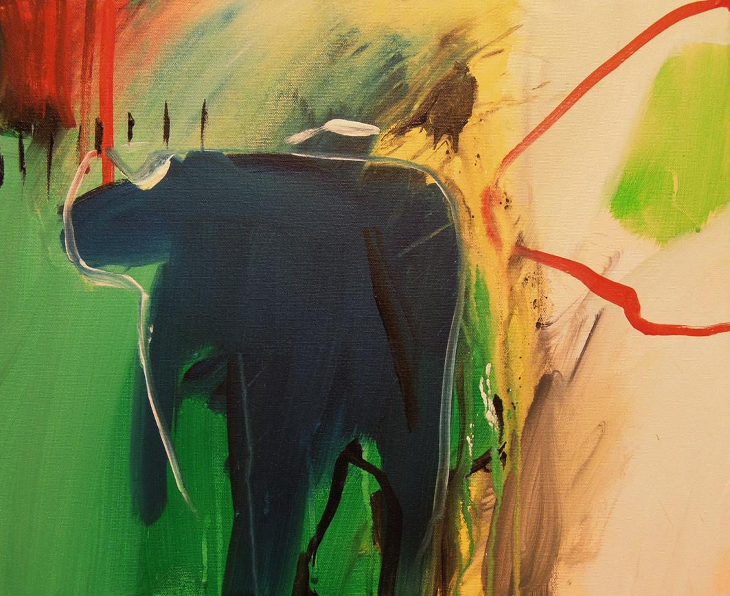 19. 45x37 - Olja på duk av Jan Ed