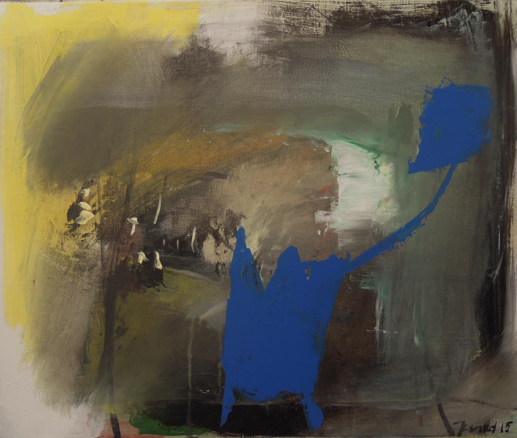11. 45x38 - Olja på duk av Jan Ed