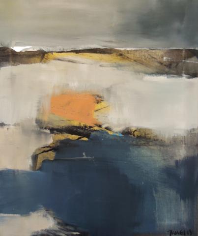12. 45x55 - Olja på duk av Jan Ed