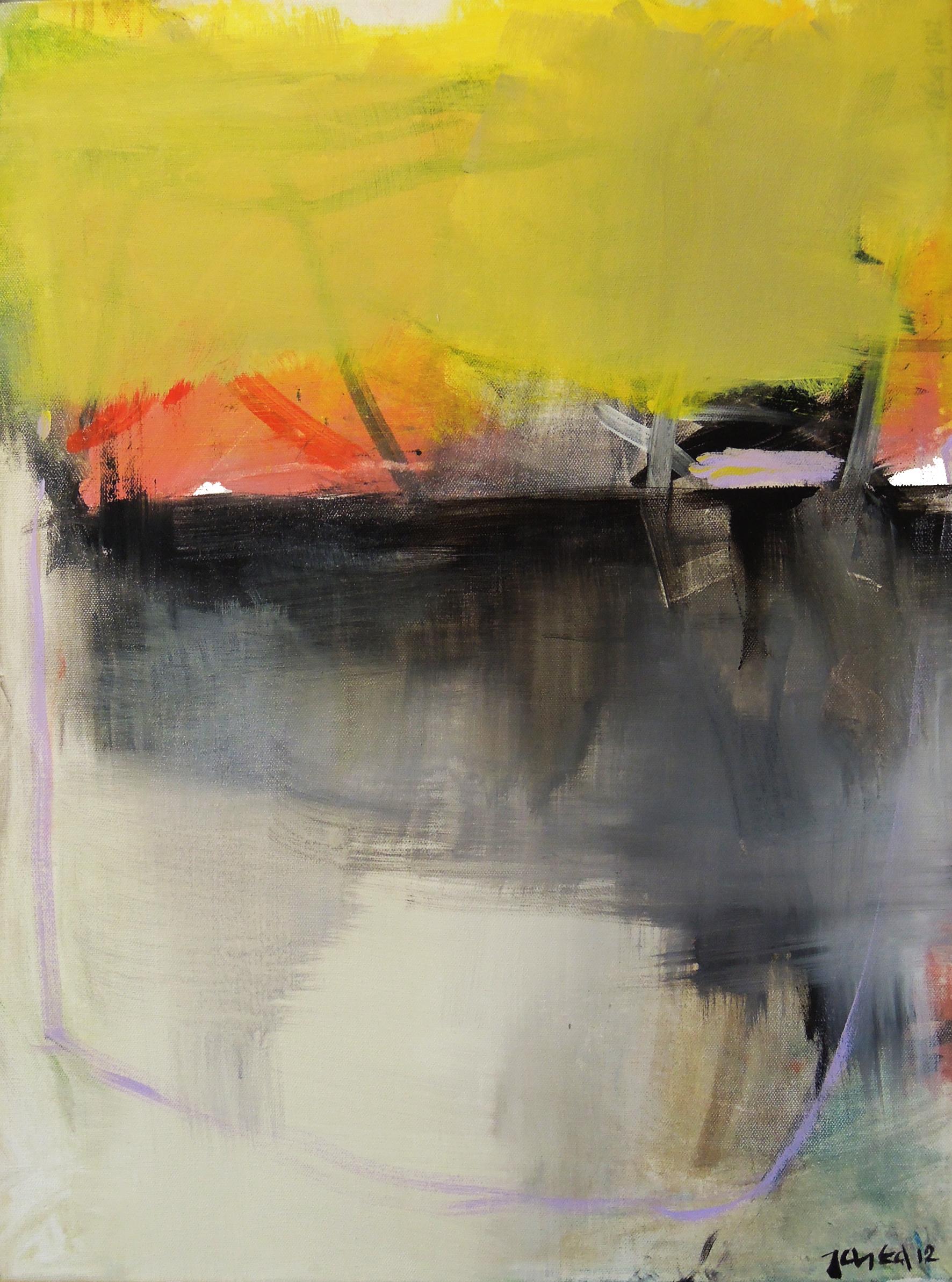 14. 46x61 - Olja på duk av Jan Ed