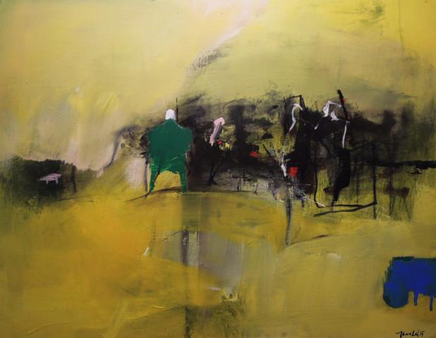 4. 70x50 - Olja på duk av Jan Ed